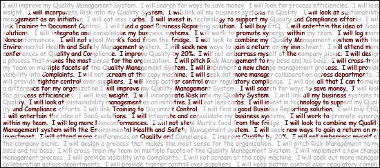 QMS Resolutions