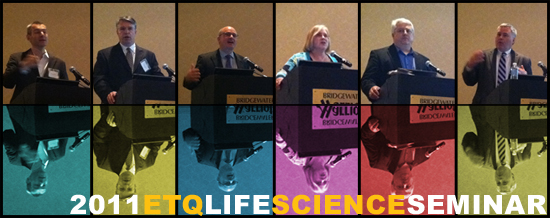 Speakers from EtQ's Seminar on Life Sciences Quality management systems