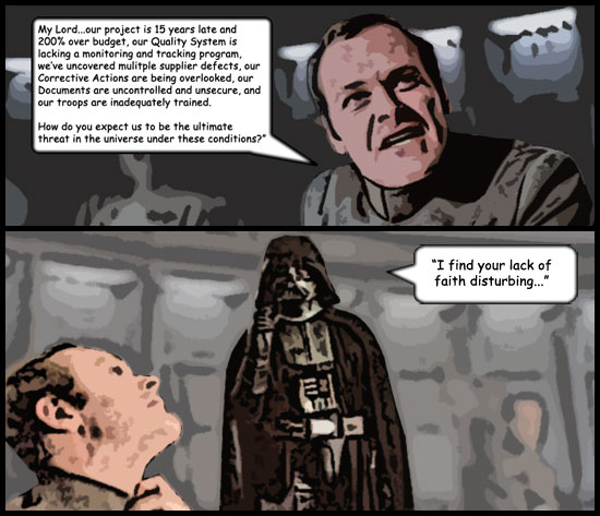 Star Wars and Quality Management