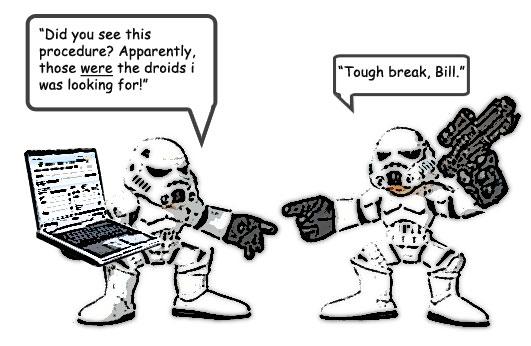 Star Wars, Document Control