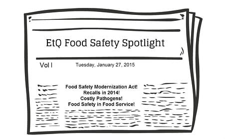 Top Food Safety Stories in January