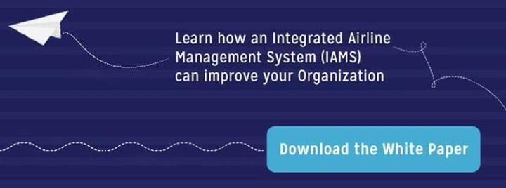 Learn how an integrated airline management system can improve your organization