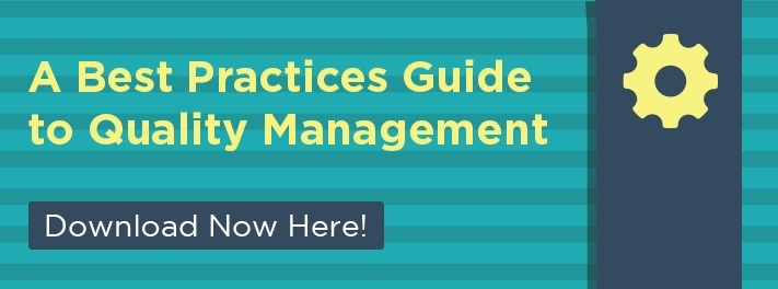 Best Practices Guide to Quality Management.