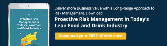 Proactive Risk Management in Today's Lean Food and Drink Industry